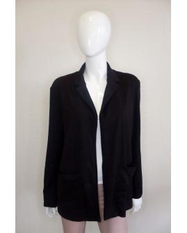 Mikinové sako Jean Pascale čierne, veľ.42