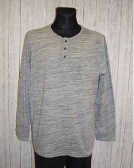 Tričko Livergy sivé melírované, veľ.XL