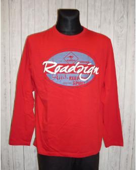 Tričko červené s nápisom,veľ.3XL