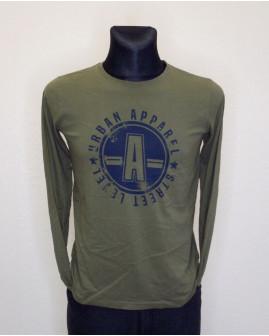 Tričko Pepperrts! zelené s potlačou, veľ.170/176