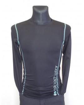 Tričko Yigga športové čierne, veľ.170/176