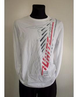 Tričko biele s potlačou, veľ.XL