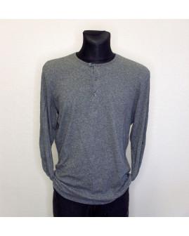 Tričko H&M sivé melírované, veľ.L