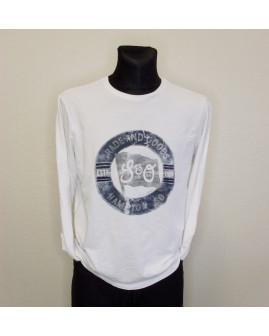 Tričko s´Oliver biele s potlačou, veľ.XL