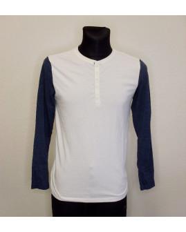 Tričko bielo-modré, veľ.M