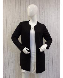 Kardigán H&M bez zapínania čierny, veľ.40