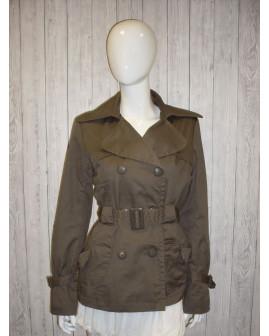 Kabátik Vero Moda zeleno-hnedý, veľ.M