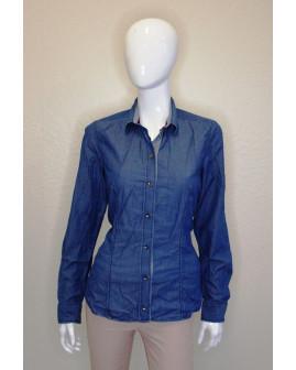 Košeľa rifľová modrá, veľ.40