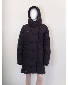 Bunda Ragwear čierna s kapucňou, veľ.XXL