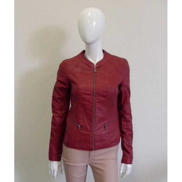Bunda Orsay koženková červená, veľ.36