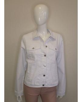 Bunda Vero Moda rifľová biela, veľ.XL