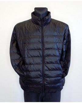 Bunda H&M čierna prešívaná, mierne zateplená, veľ.L
