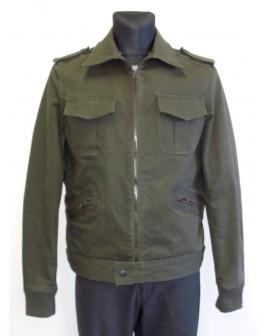 Bunda khaki zelená, mierne zateplená, veľ.54