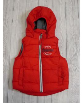 Vesta H&M červená s kapucňou, veľ.92