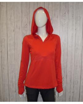 Tričko športové oranžové, veľ.36