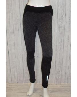 Cyklo nohavice Tchibo čierne melírované, veľ.S