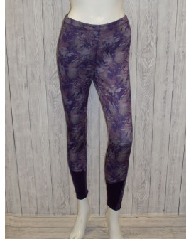 Cyklo nohavice Crivit fialové so vzorom, veľ.M