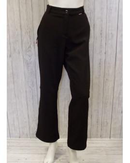 Športové nohavice dámske Gina softshellové čierne, veľ.44