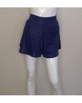 Športové šortky Active modré, vnútri všité ružové legíny, veľ.M