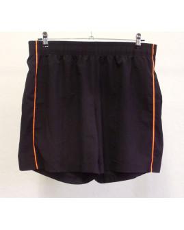 Športové šortky Crane čierne, veľ.50