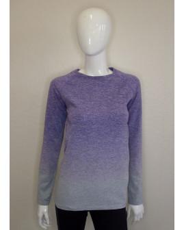 Tričko fialovo-sivé, veľ.L/XL