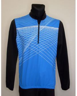 Cyklo dres Nakamura modro-čierny, veľ.L