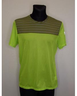 Tričko Adidas zelené, vrch sivý vzorovaný, veľ.L