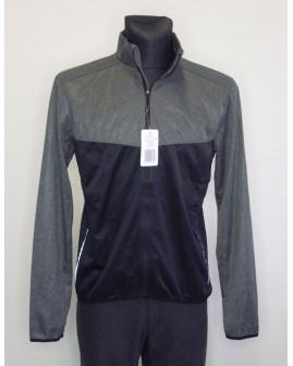 Cyklistická bunda Crane sivo-čierna, veľ.48/50