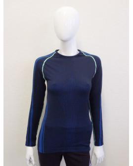 Funkčné tričko modro-čierne, veľ.L
