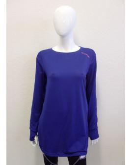 Dlhé tričko Elle sport fialové, veľ.L