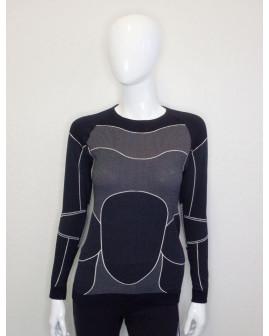 Funkčné tričko Crivit sivo-čierne, veľ.M