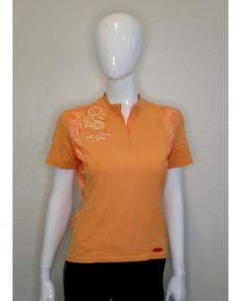 Cyklistický dres Scott dámsky oranžový, veľ.M