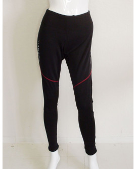 Cyklistické nohavice Shamp dámske čierne, veľ.S