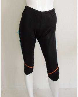 3/4 cyklistické nohavice Crivit dámske čierne, veľ.M