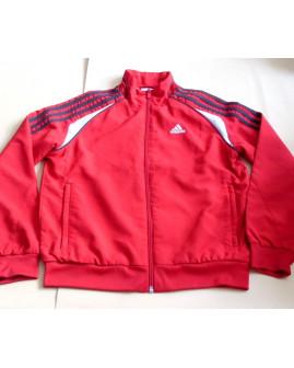 Bunda Adidas červená, veľ.140