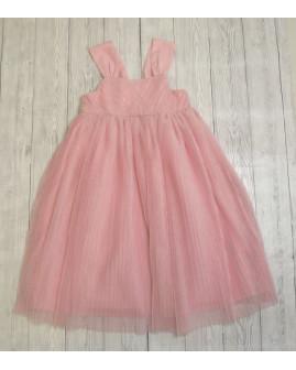 Šaty H&M ružové s tylom, veľ.110