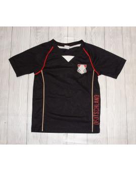 Futbalový dres čierny, veľ.104/110