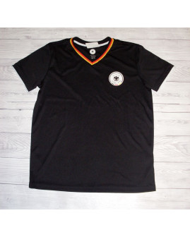 Futbalový dres čierny, veľ.134/140