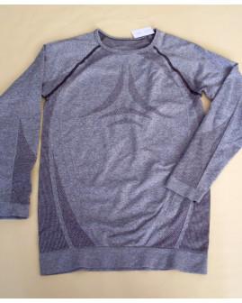 Funkčné tričko sivé melírované, veľ.146/152