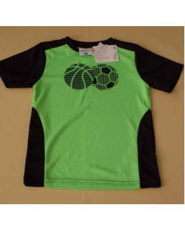 Tričko Topolino zeleno-modré s obrázkom, veľ.110