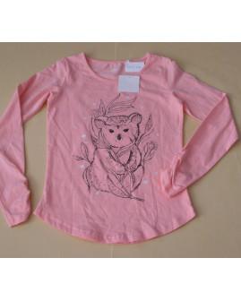 Tričko Yigga ružové s obrázkom, veľ.134/140