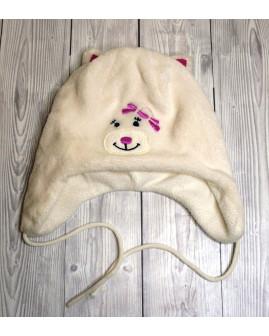 Detská čapica Liegelind biela
