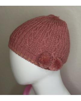 Detská čapica Zara ružová