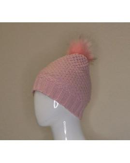 Detská čapica ružová