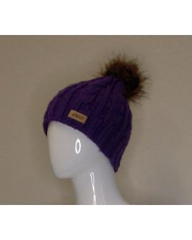 Dámska čapica Reco fialová