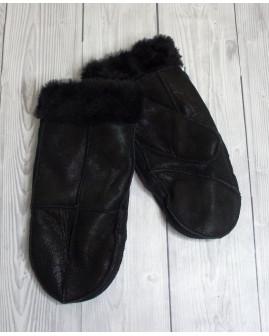 Dámske rukavice čierne