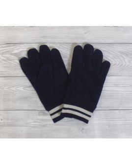 Detské rukavice Tchibo tmavomodré