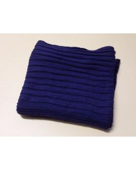 Šál modrý