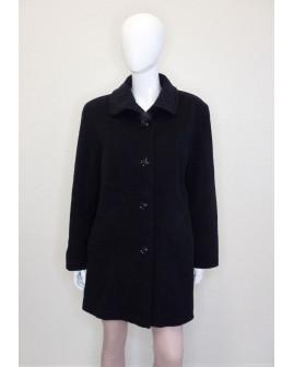 Kabát Barbara Lebek čierny, veľ.42