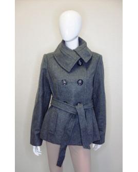 Kabát C&A sivý, veľ.40